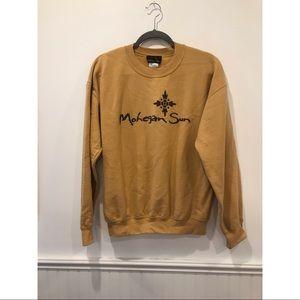 Vintage Mohegan Sun Khaki Crew Neck Sweatshirt
